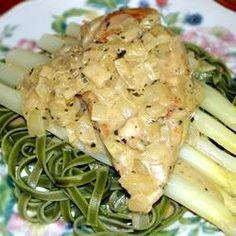 Poulet aigu de Tarragon - Allrecipes.com
