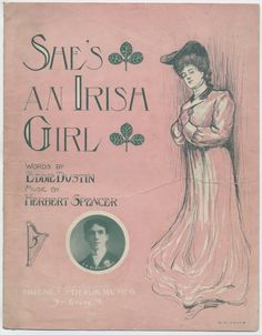 She's An Irish Girl #sheetmusic #gibsongirl