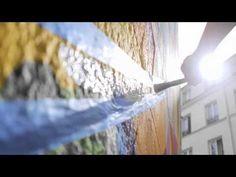 MWM X Lets Colour France : Walls Are Dancing. Stop-Motion Music Video of 3 Mega-Murals (Marseille, Lyon, Paris) Sidewalk Art, Street Art Graffiti, Stop Motion, Illustration Art, Illustrations, Urban Art, Wall Murals, Cool Art, Let It Be
