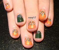 simple and easy nail art for short nails http://instagram.com/naq57
