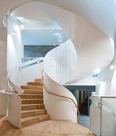 Staircase - La Maison Hotel in Saarlouis, Germany