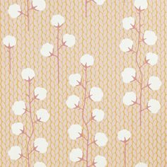 Sweet Cotton Wallpaper by Majvillan | Available from www.wallpaperantics.com.au