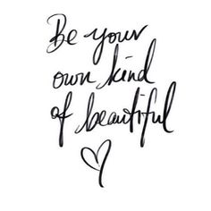 Goodnight gorgeous, here is a little reminder for tomorrow. Shine Bright