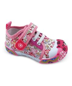 Take a look at this Fuchsia Kitten Alice Sneaker today!