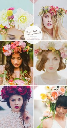Floral crown yes please who doesn't want to look like a flower princess