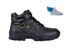 Čierne, členkové topánky NEW LOIRA S3 SRC s rýchloupínacím systémom.