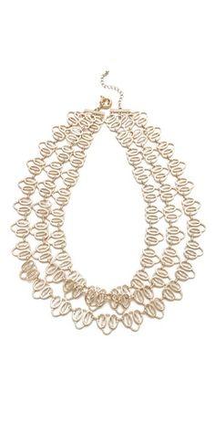 Juliet & Company Lacet Necklace