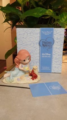 "PRECIOUS MOMENTS ""PART OF YOUR WORLD"" 630039 DISNEY'S LITTLE MERMAID ""ARIEL""/NEW"
