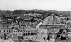 Синагога Темпель на теперішній площі Старий Ринок. Між 1861 та 1863 рр.