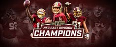 redskins win the nfc east  | With a win over the Philadelphia Eagles, the Redskins clinched their ...