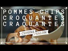Devant l'écran - Chips de pommes sans huile | Cuisine de Salon