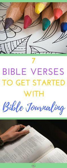 Bible Journaling|Easy|Beginner|Bible Verses|Faith|Prayer Journal