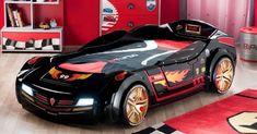 Kinderzimmer gestalten - 20 Kinderbetten für coole Jungs wie Autos geformt - kidsroom car bed