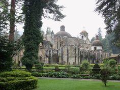 Im Nationalpark Desierto de los Leones befindet sich dieses beeindruckende ehemalige Karmeliterkloster, #Mexiko Stadt