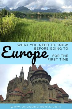 What you need to know before travelling to Europe for the first time. Prevent culture shock. #europe #travel #cultureshock #european #on2continents #travelblog Travel Couple, Family Travel, Continental Europe, Travel Advice, Travel Tips, Budget Travel, Travel Quotes, Travel Ideas, Europe Travel Guide