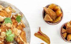 Kielen vievä herkku viimeisistä vanhoista perunoista Tacos, Mexican, Ethnic Recipes, Food, Meal, Essen, Hoods, Meals, Mexicans