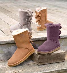 UGG® Australia Bailey Bow Corduroy Boots