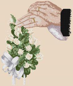 """Сачать схему вышивки """"Wedding bouquet"""""""