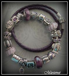 Pandora bracelet, its the only bracelet I wear. It's an updated charm bracelet from the past .