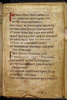 Brit.Lib. - Gospel of John, St. Cuthbert Gospel, interior page