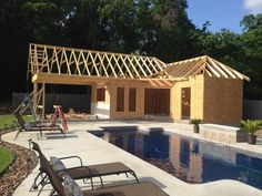 Pool and pool house ideas