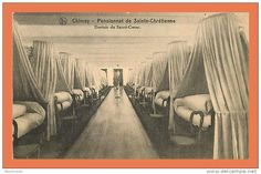BELGIQUE - CHIMAY - Pensionnat de Sainte Chrétienne - Dortoir du Sacré Coeur // CPA (201)