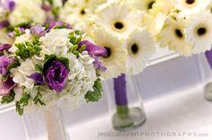 fall wedding flowers purple   Bank of Memories & Flowers