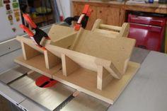 Miter Spline Jig - Fine Woodworking