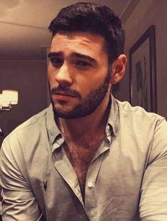 - hair, eyebrows and facial hair. Face Men, Male Face, Handsome Actors, Hair And Beard Styles, Man Photo, Facial Hair, Perfect Man, Bearded Men, Gorgeous Men