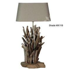 drift wood lamp