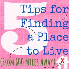 5 Tips for Finding a