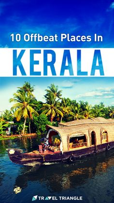 Don't wish to deal with the noisy crowds of tourists on your trip to Kerala? Visit these unexplored, yet stunning offbeat places in Kerala instead of the usual. Beautiful Places To Travel, Best Places To Travel, Cool Places To Visit, Kerala Travel, India Travel Guide, Travel Tours, Asia Travel, Travel Destinations, South India Tourism