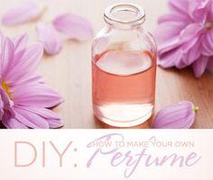 DIY: How to make your own Perfume! #perfume #DIY #homemade - bellashoot.com