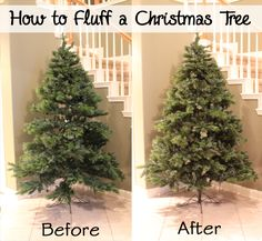 Artificial Christmas Trees Are Very Convenient To Use For Holiday Decorating Especially Those With Allergies But They Must Be Shaped And Fluffed Every