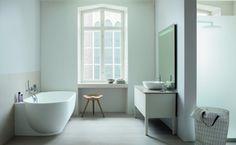 Duravit's Luv bathroom series by designer Cecilie Manz