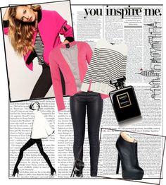 """""""Pretty in Pink with a Splash of Vixen."""" by miranda-cerny on Polyvore"""