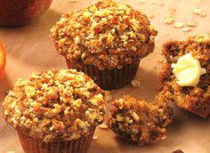 Apple Streusel Oatmeal Muffins Recipe