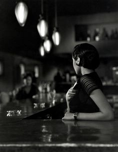 """Bartender Answers Telephone  """"Are-you-here?"""" http://alwaysaroused.tumblr.com/"""