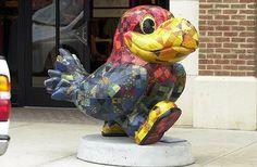 Jayhawks on Parade / Patchwork Hawk