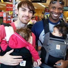 Serie de fotos sobre los nuevos papás o cómo viven los hombres actuales la paternidad
