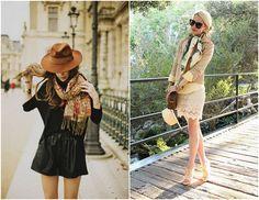 16 Ways To Wear A Scarf // The Effortless Chci