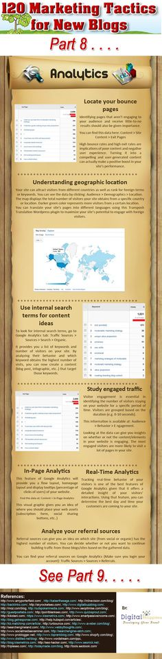 120 marketing tips for bloggers how to promote your blog #infographic www.socialmediabusinessacademy.com part 8