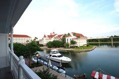 Disney Resort Hotels, Disney's Grand Floridian Resort & Spa - Exterior & Boat, Walt Disney World Resort