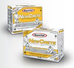 An overlayment to resurface the existing mix and match concrete - NewCrete™