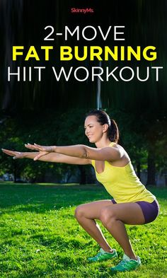 Try this 2-Move Fat-Burning HIIT Workout for some SERIOUS fat loss!