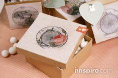 PASO A PASO: DETALLE DE FIESTA.  Transfiere una imagen sobre textil con Foto Transfer Potch y ¡enamora a tus amigos con un detalle para tu fiesta!  http://innspiro.com/blog/paso-a-paso-detalle-fiesta