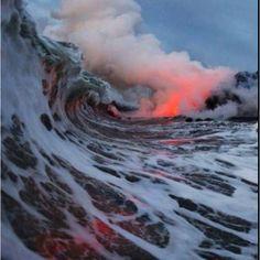 Lava wave