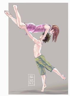 "nalaluna: "" Since I'm doing a lot of gesture drawing with dancers, I decided to create an AU where UA is actually an university with the best dance program in the world. Izuku was actually a classic dancer, however when he met Ochako she introduces..."
