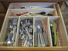 DIY Drawer Organizer for $6 - Save Money And Get Out Of Debt - Living on a Dime