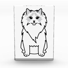 Ragdoll Cat Cartoon Award